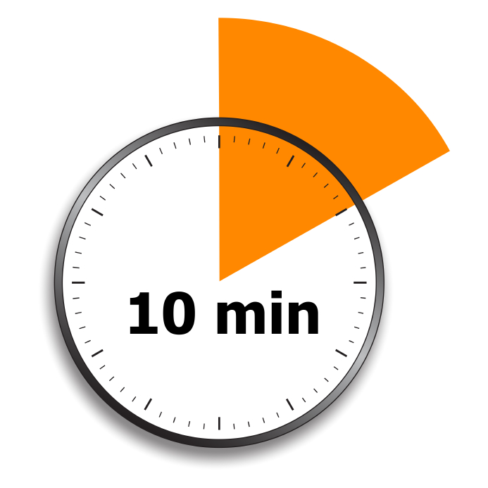 timer for 10 minutes